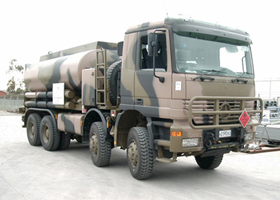 Military 8x8 Non-Aviation Refueller