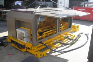 AURIZON SKID with canopy fitted & fully open