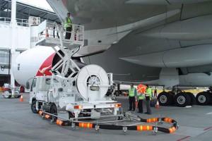 Hyd Dispenser refuelling A380